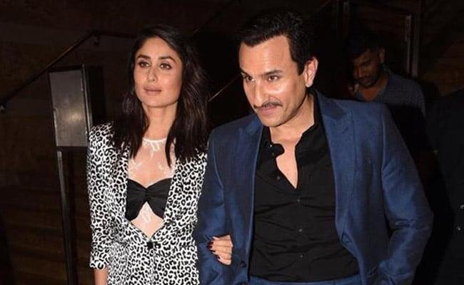Kareena Kapoor And Saif Ali Khan Are