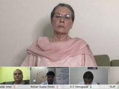 कांग्रेस नेताओं की चिट्ठी पर बोलीं सोनिया गांधी- 'मैं आहत हूं, लेकिन जो हुआ सो हुआ अब...'
