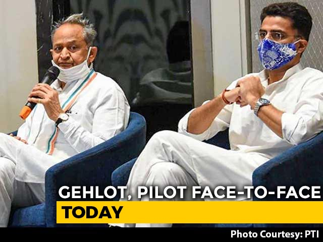 Video : After 3-Day Silence, Ashok Gehlot, Sachin Pilot Face-to-Face Today