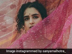 Sanya Malhotra Gives Us Reason To Fall For Cotton Sarees All Over Again