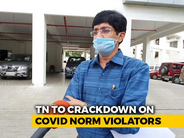 Video : Tamil Nadu To Amend Public Health Act To Punish COVID-19 Norms' Violators