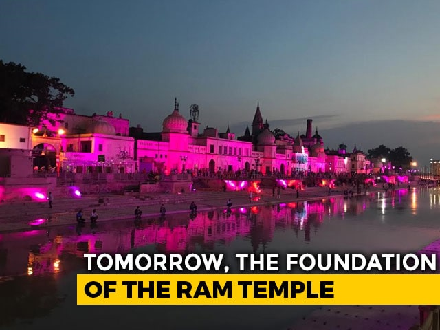 Video : Top News Of The Day: Massive Ayodhya Ram Temple Event Tomorrow