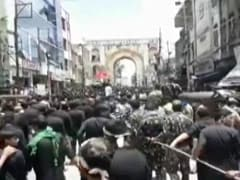 Muharram Procession In Hyderabad Despite Court's No, Covid Rules Violated
