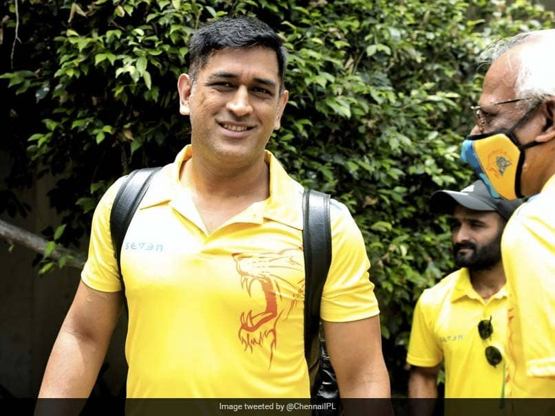 """""""On The Move"""": MS Dhoni, Other CSK Stars All Smiles As They Prepare To Leave For UAE"""