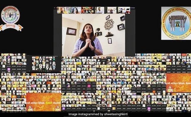 सुशांत की प्रार्थना सभा में जुड़े 101 से अधिक देशों के लोग, श्वेता सिंह कीर्ति बोलीं- दिव्य अनुभव...देखें Video