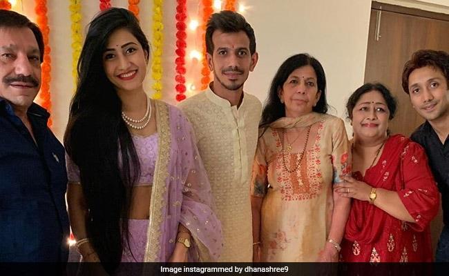 Yuzvendra Chahal gets engaged to YouTuber Dhanashree Verma Danni women cricketer Wyatt react on it