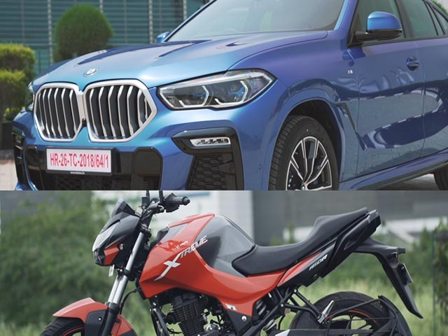 Videos : रफ़्तार Rebooted Ep 7 | BMW X6 | Hero Xtreme 160R