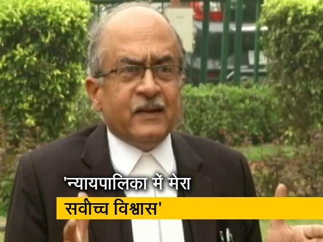 Videos : रवीश कुमार का प्राइम टाइम: प्रशांत भूषण पर आरोपों की सुनवाई
