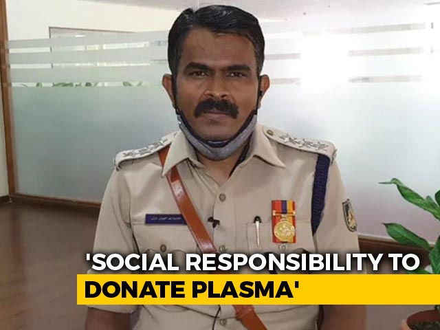Video: Do Not Fear COVID-19, Bengaluru Cop On Plasma Donation Post Recovery