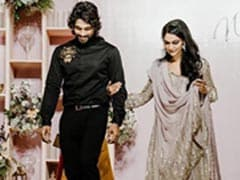 Trending: Allu Arjun And Wife Sneha's Pics From Niharika Konidela's Engagement
