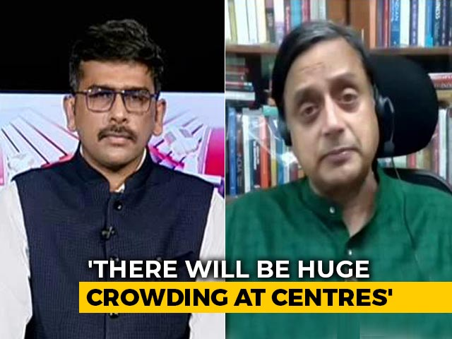 Video : Conducting Exams Now Won't Be Accurate Measure Of Talent: Shashi Tharoor