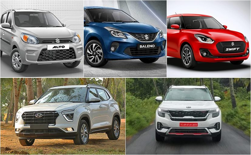 Seven out of the ten bestselling cars in the month of July 2020 were from Maruti Suzuki India