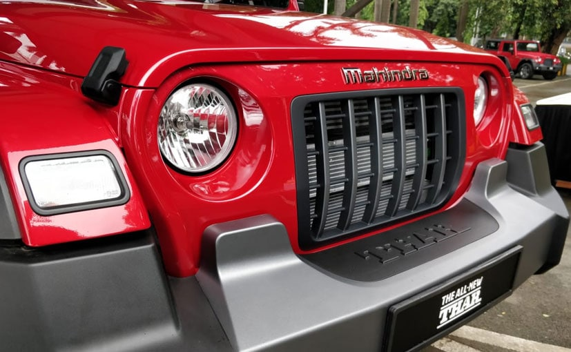 The new generation of the Mahindra Thar gets a 7 slot front grille