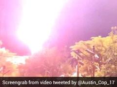 Caught On Camera: The Lightning Strike That Shut Down A Disney World Ride