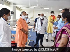 Noida Gets 400-Bed Covid Hospital, Yogi Adityanath Reviews Facilities