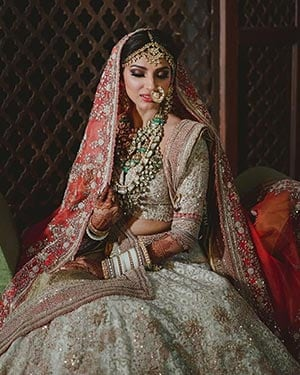 ICYDK: Miheeka Bajaj's Wedding Lehenga Took 10,000 Hours To Make