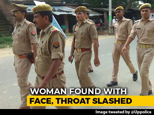 Video : UP Woman Found By Canal With Face, Throat Slashed. Locals Filmed Her