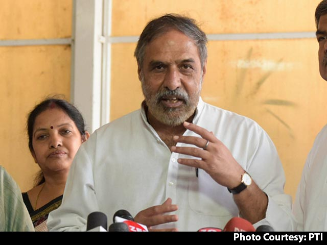 "Video : India ""Lost A Great Statesman"": Anand Sharma On Pranab Mukherjee's Death"
