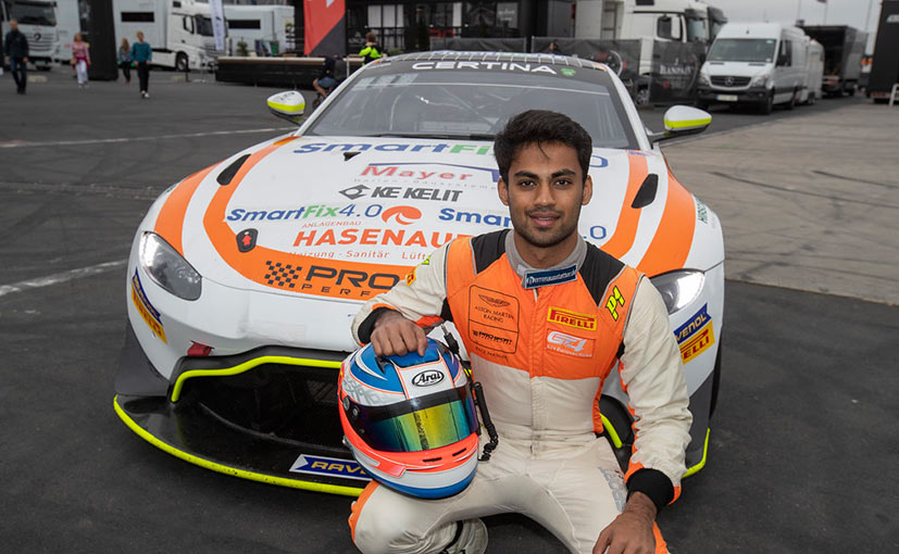 Akhil Rabindra could sign a junior driver contract for 2021 at the end of the 2020 season