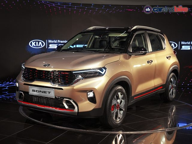 The Kia Sonet made its world debut in India on August 7