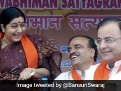 On Arun Jaitley's Death Anniversary, Bansuri Swaraj's Poignant Tribute