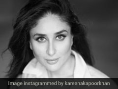 Kareena Kapoor's Perfect Eyeliner Stands Out Even In A Black And White Post