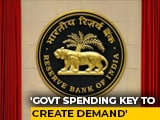Video : RBI Warns Of Economic Contraction Till Sept, Says Govt Consumption Key To Demand Growth