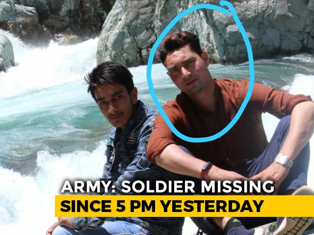 Video : Soldier Missing In J&K's Kulgam, Likely Kidnapped By Terrorists: Army