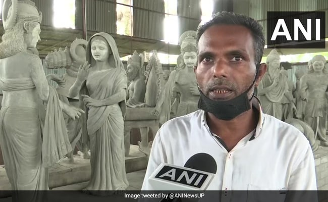 Sculptor Making Ramayana-Based Statues For Ayodhya Temple Since 2013
