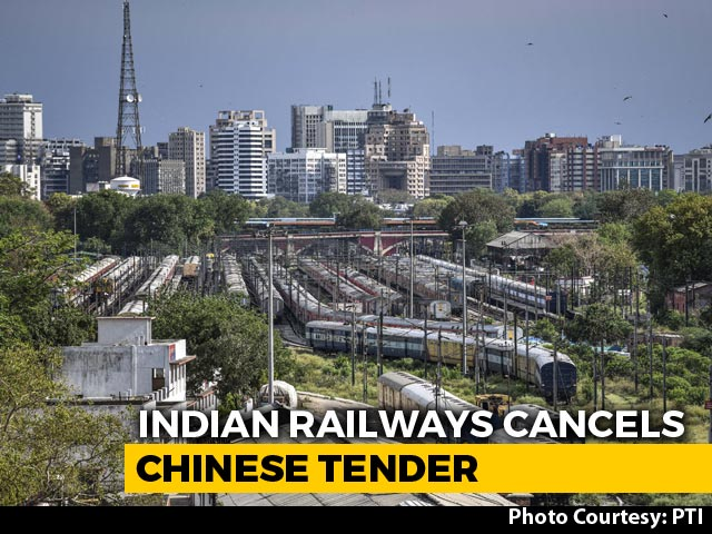 Video : Tender For 44 Vande Bharat Trains Cancelled After Bid From Chinese Joint Venture