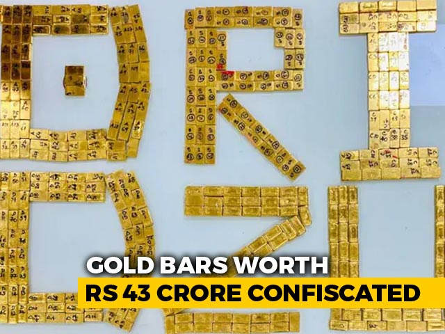 Video : 8 Arrested At Delhi Railway Station With 504 Gold Biscuits Worth Rs. 43 Crore