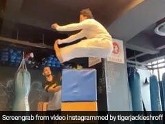टाइगर श्रॉफ ने अपने स्टंट से फिर कर दिया सबको हैरान, Video में लगा दी इतनी ऊंचाई से छलांग
