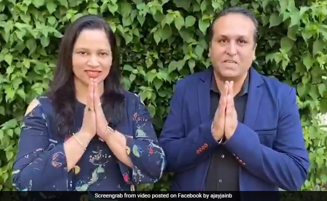 Indian-American Couple Releases Campaign Video For Biden, Harris - NDTV