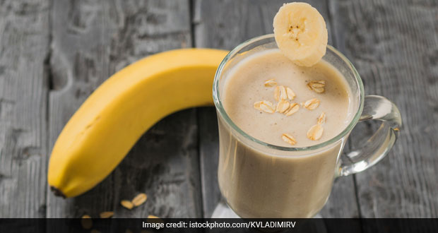 Banana Oats Smoothie Recipe Ndtv Food