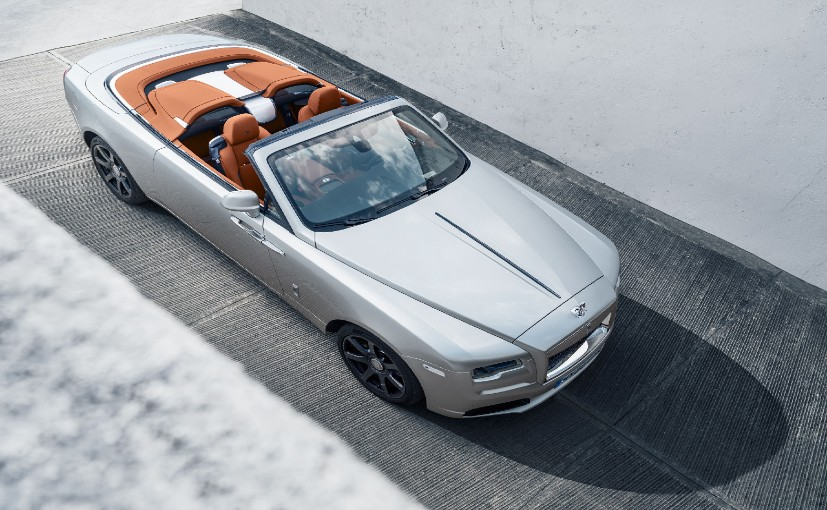 The four-seater Rolls-Royce Dawn can be transformed into an adaptable two-seat roadster.