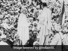 """Quit India Movement: """"Think Of Yourselves As Indians Only,"""" Said Gandhi<i>ji</i>"""