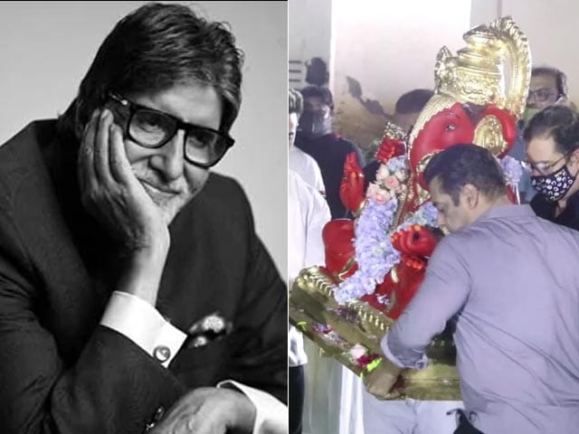 Big B Back On KBC Sets, Salman Bids Adieu to Lord Ganesha, Warner Bros. 'FanDome' Event