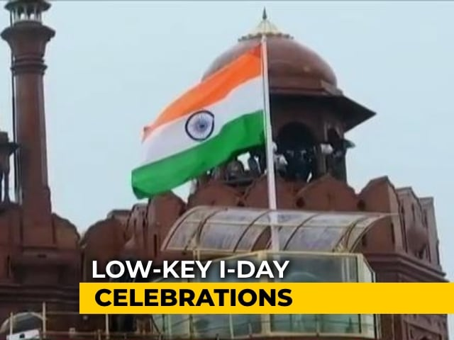 Video : Low-Key Independence Day Celebration Amid Pandemic