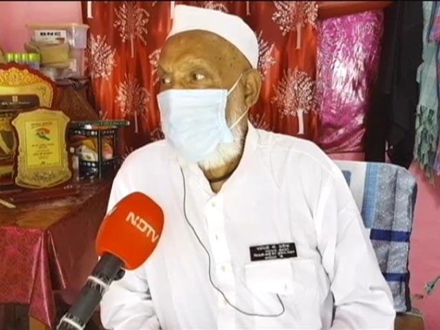 """Video : """"Peace, Harmony, Progress"""": Mohammad Sharif, Padma Shri Recipient, On Ayodhya Event"""
