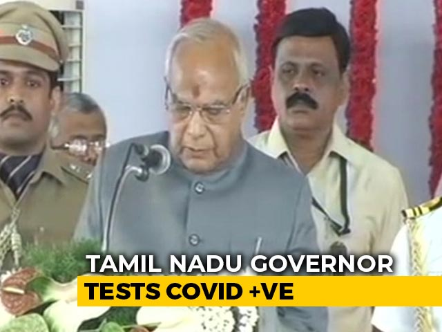 Video : Tamil Nadu Governor Banwarilal Purohit Tests Positive For COVID-19
