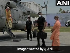 अयोध्या : PM मोदी के प्लेन से उतरते ही CM योगी ने कुछ इस तरह किया स्वागत, देखें Video