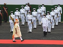 """Pics: In Red Fort Speech, PM Modi Says """"Make In India, Make For World"""""""