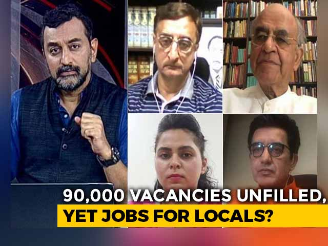 Video : Jobs for Locals Remark Triggers Divide in Madhya Pradesh