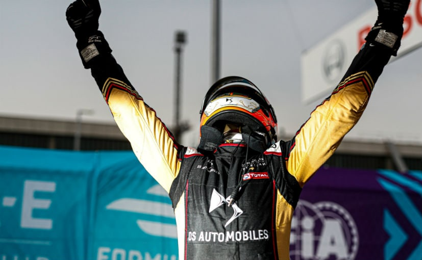 Felix da Costa won the drivers' championship with a lead of 76 points over teammate Jean-Eric Vergne