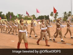 Tamil Nadu Cop Leads Independence Day Parade Day After Her Father's Death