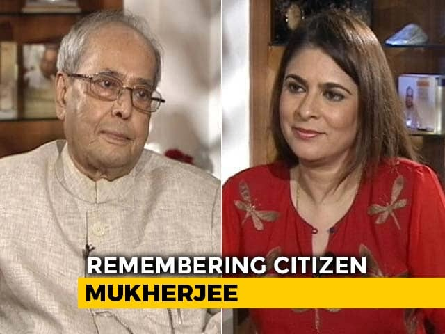 Video : Content With What I Have Received: Pranab Mukherjee (Aired Oct, 2017)