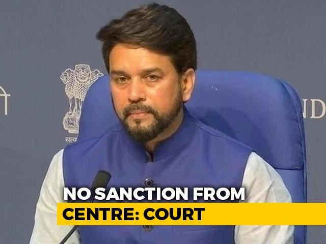 Video : No FIR Against Anurag Thakur Without Centre's Nod: Court To Brinda Karat