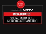Video : India Debates: Social Media Does More Harm Than Good