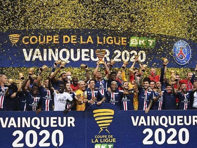 PSG Edge Out Lyon On Penalties To Clinch French League Cup Title