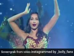 Nora Fatehi ने 'दिलबर' सॉन्ग पर मचाया तहलका, रेड ड्रेस में दिखा एक्ट्रेस का जबरदस्त अंदाज- देखें Video